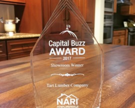 Tart Lumber Honored by NARI with Best Showroom Award
